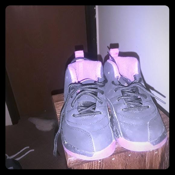 half off 05a14 9ab28 Girls Jordan purple 12s 10c